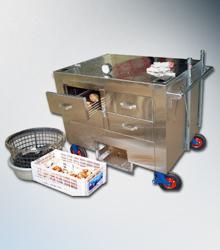 皆盛機電-推車式烤地瓜爐