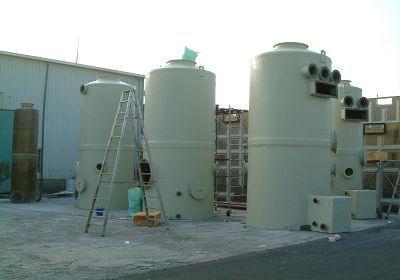 frp立式洗涤塔-frp制作-frp水槽