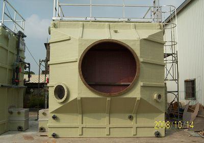 frp卧式洗涤塔 用途 工业用之废气抽取